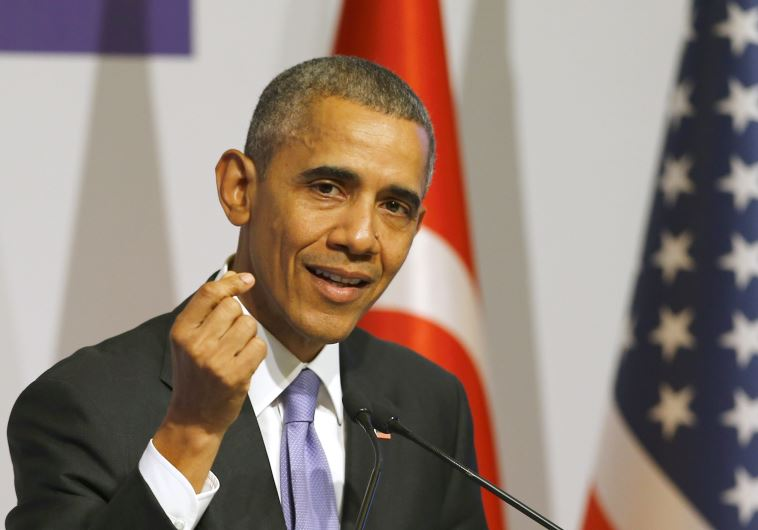 US President Barack Obama addresses a news conference following a working session at the Group of 20