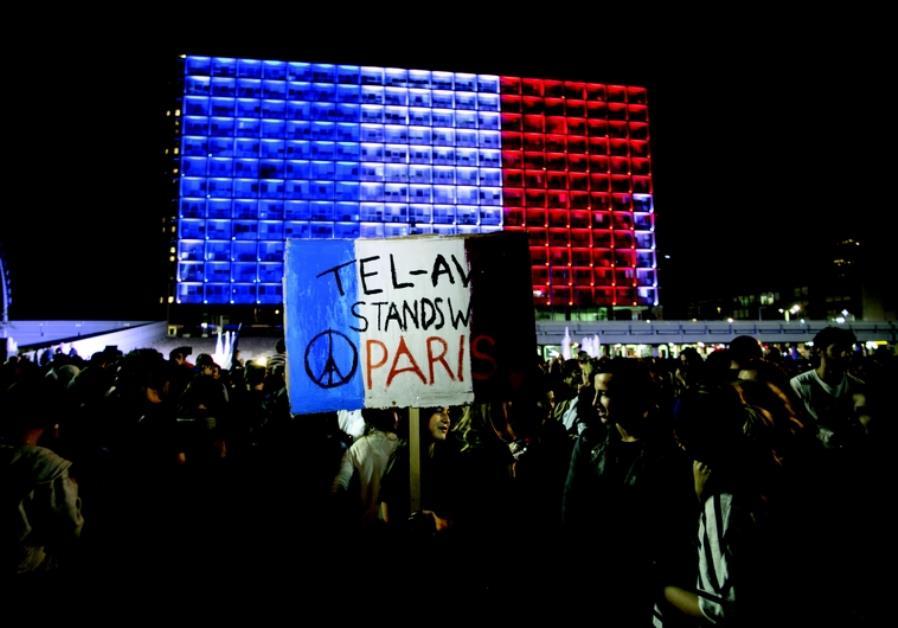 Manifestation de solidarité à Tel-Aviv
