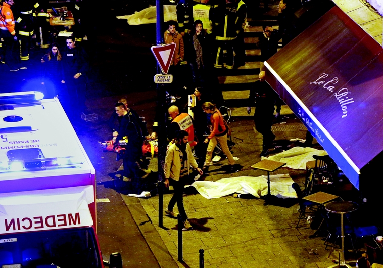 Attentats meurtriers en plein Paris