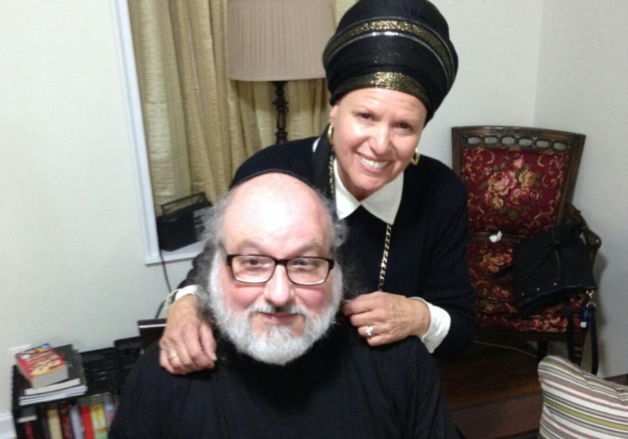 Jonathan Pollard and his wife Esther