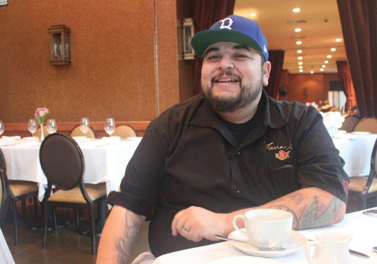 CHEF GABE Garcia of Tierra Sur kosher restaurant takes a break