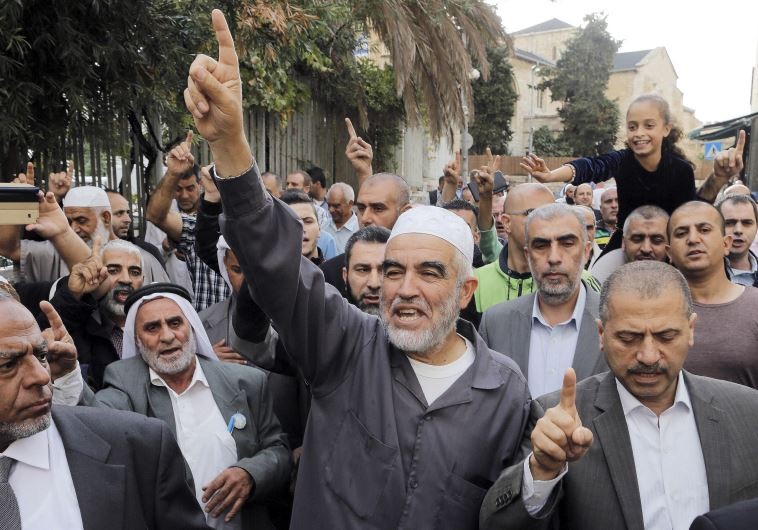 Leader of the northern Islamic Movement Sheikh Raed Salah