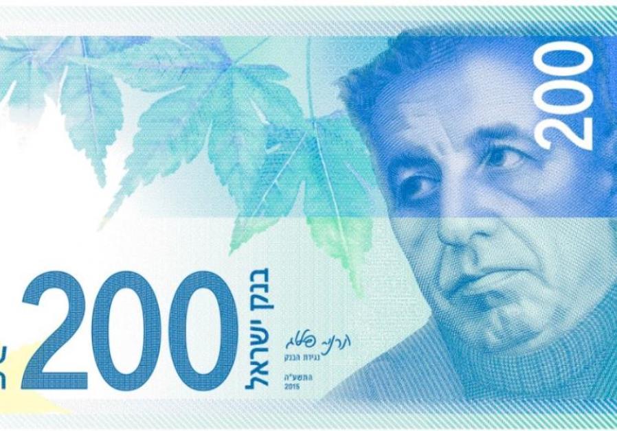 Israeli shekels