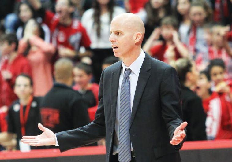 Hapoel Jerusalem coach Danny Franco