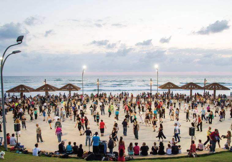 Haifa beach