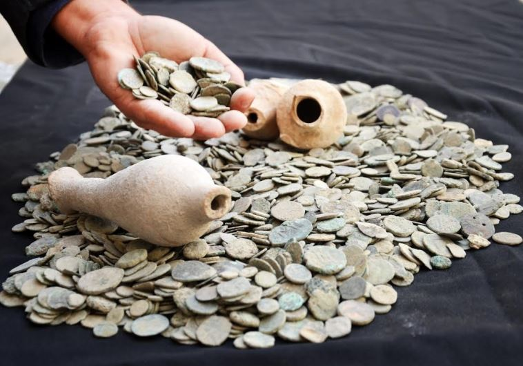 AN IMAGE of the seized coins