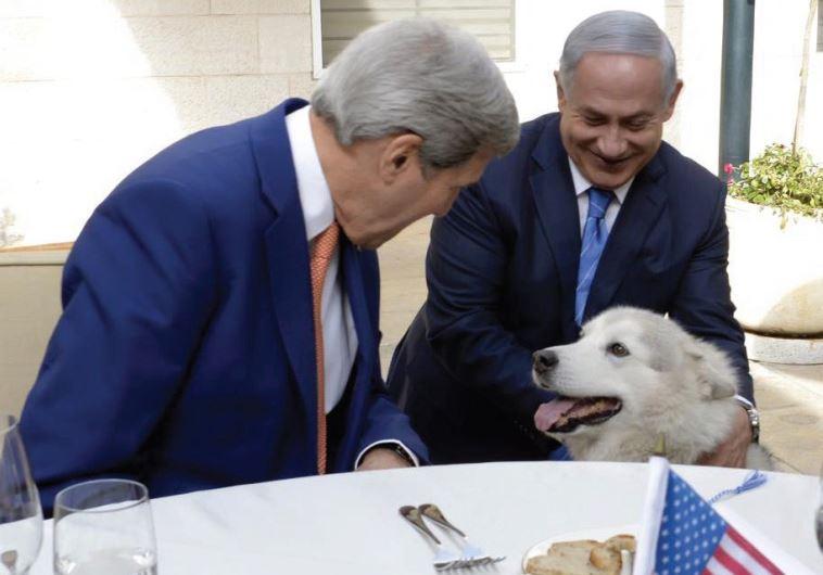 US SECRETARY of State John Kerry and Prime Minister Benjamin Netanyahu lavish attention on Kaya