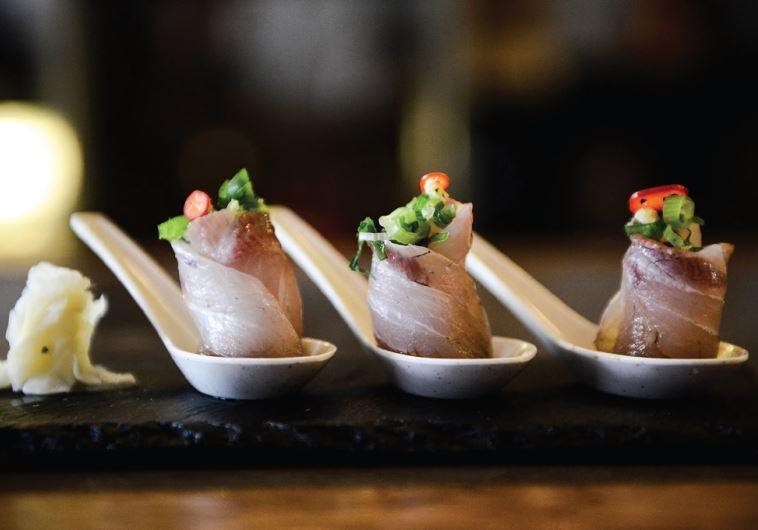 Yan sushi bar Tel Aviv
