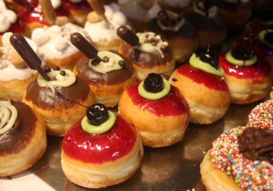 Hanukka Donuts