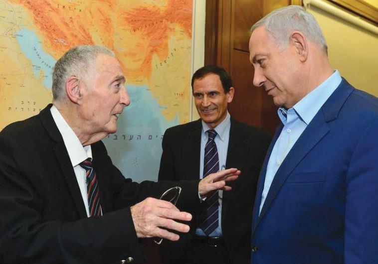 URI LUBRANI with Prime Minister Benjamin Netanyahu