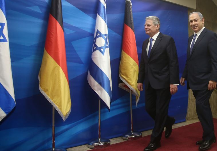 german president israel