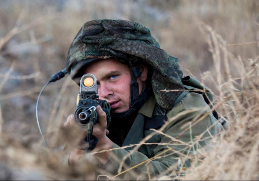 The Givati Brigade's Tzabar Battalion practices complex maneuvers in an urban warfare environment