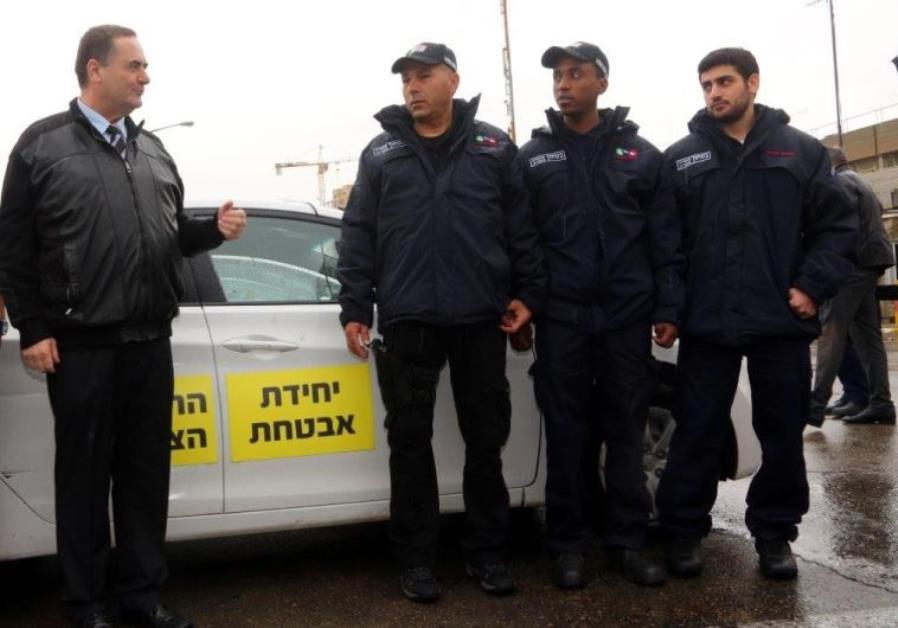 Civilian security guards deployed at Jerusalem bus stations