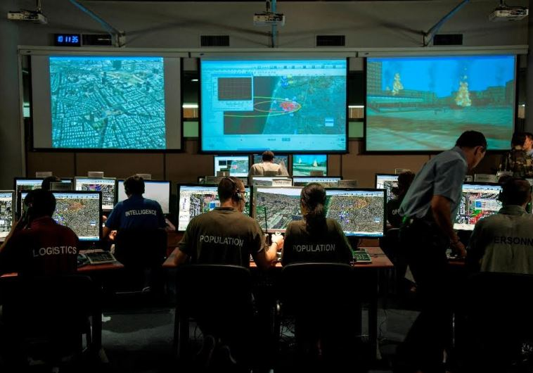 IDF Home Front Command training on new Elbit Systems program