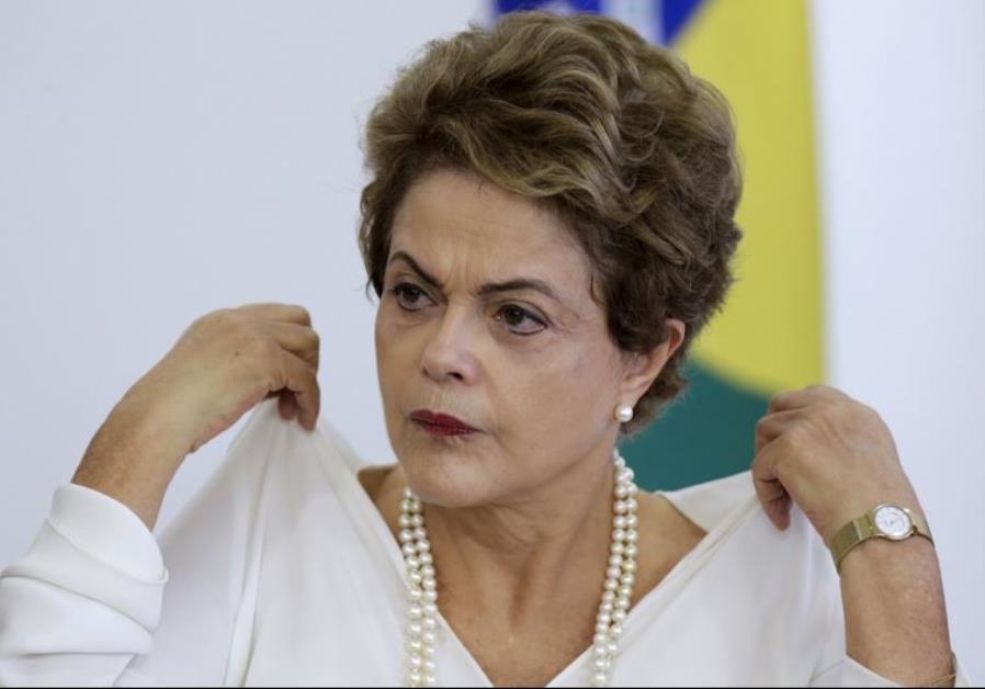 Brazil's President Dilma Rousseff