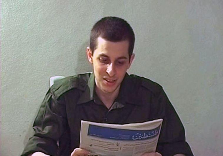 Israeli soldier Gilad Schalit is seen in this video grab released on October 2, 2009