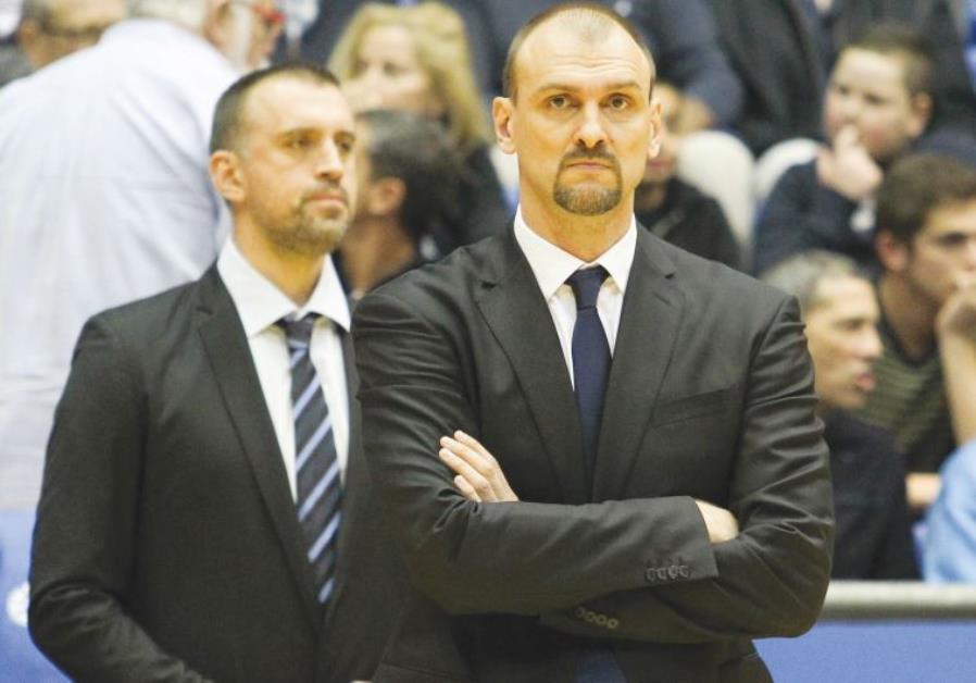 Maccabi Tel Aviv coach Zan Tabak