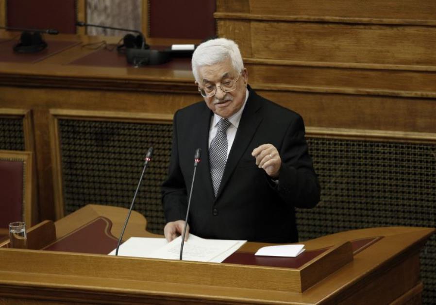 Mahmoud Abbas Greece