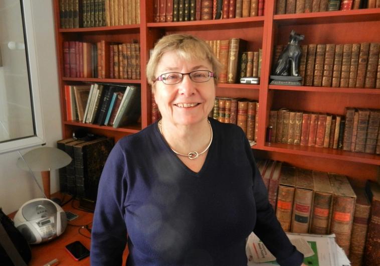 La romancière Michèle Mazel