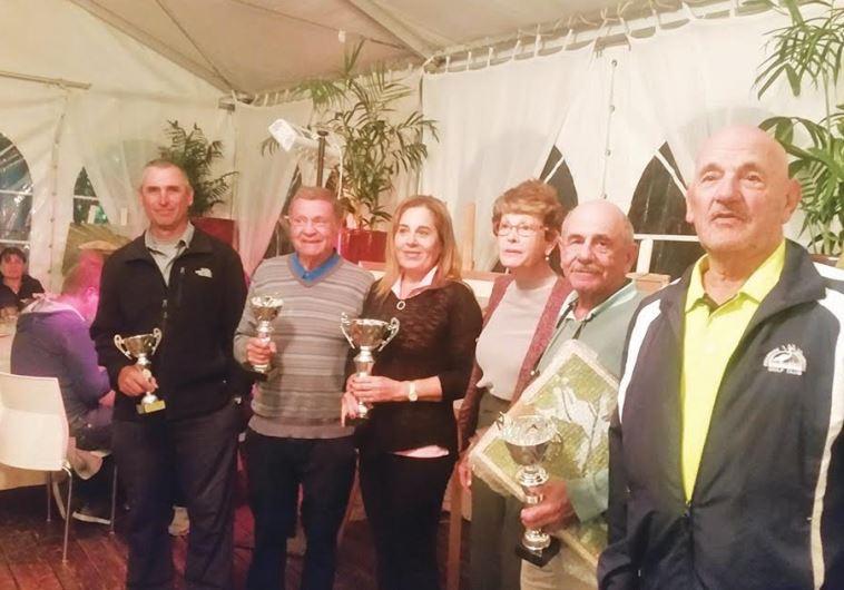 Ga'ash Golf tournament winners