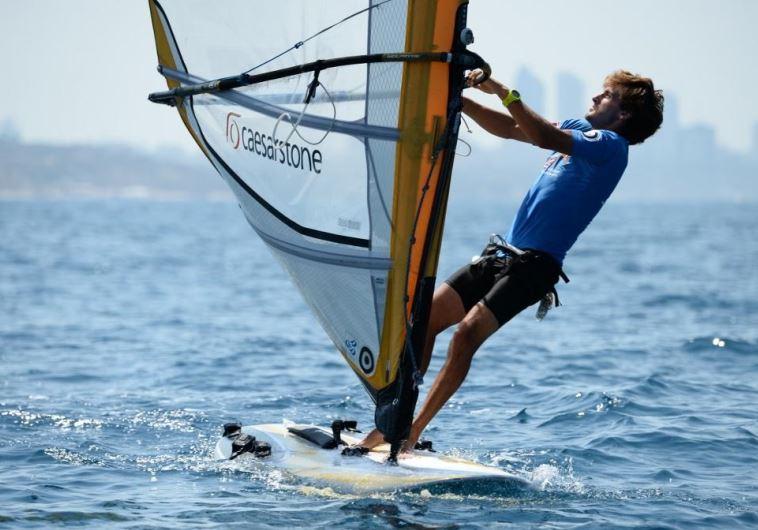 Windsurfer Yoav Omer
