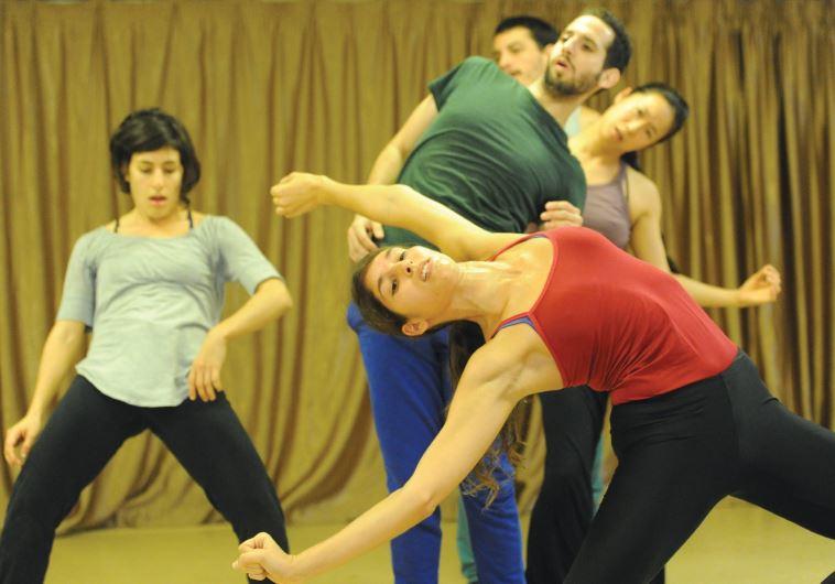 FOUR LOCAL dancers perform together with Japanese dancer Ema Yuasa in Idan Sharabi's 'Interviews/Mak