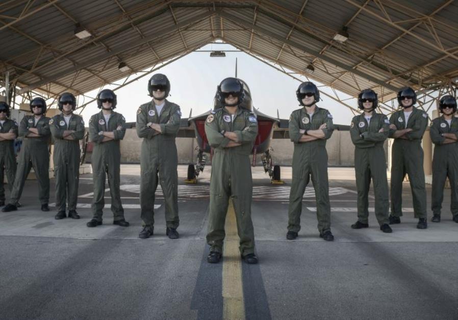 The latest batch of graduating IAF pilots, December 26, 2015.