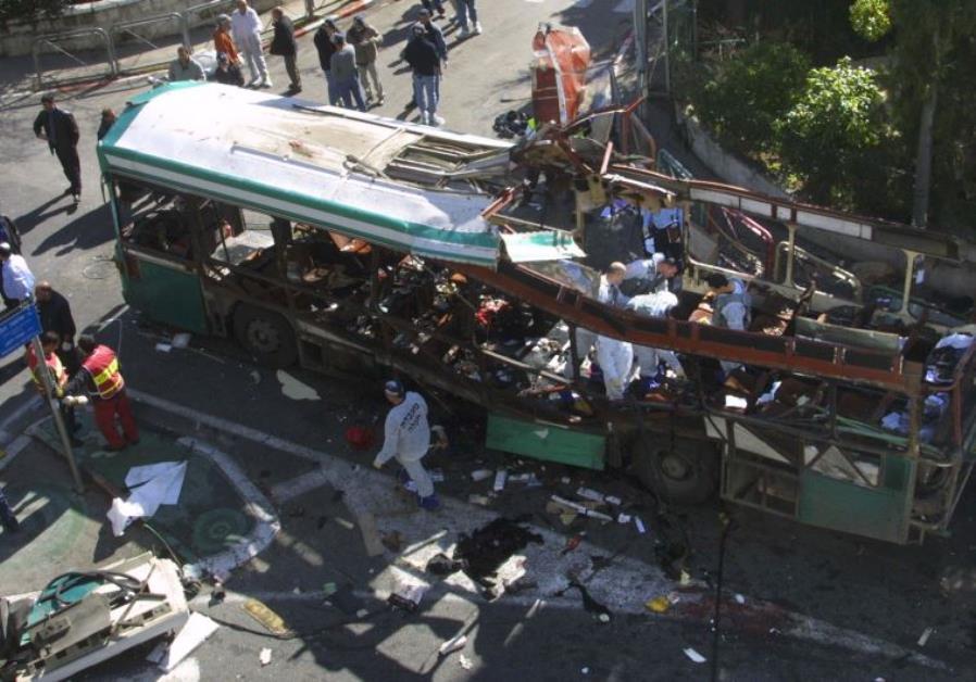 Suicide bombing Israel