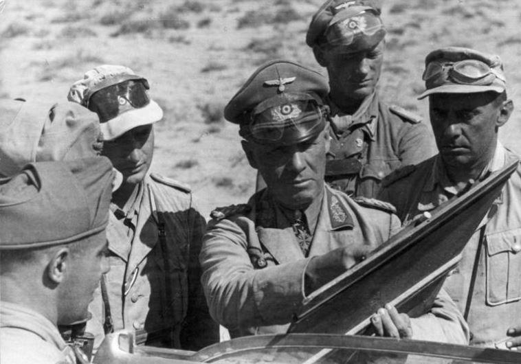 The Desert Fox, Field Marshal Erwin Rommel (Center)