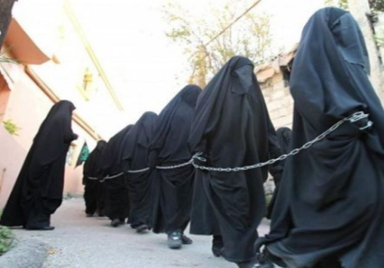 ISIS female slaves