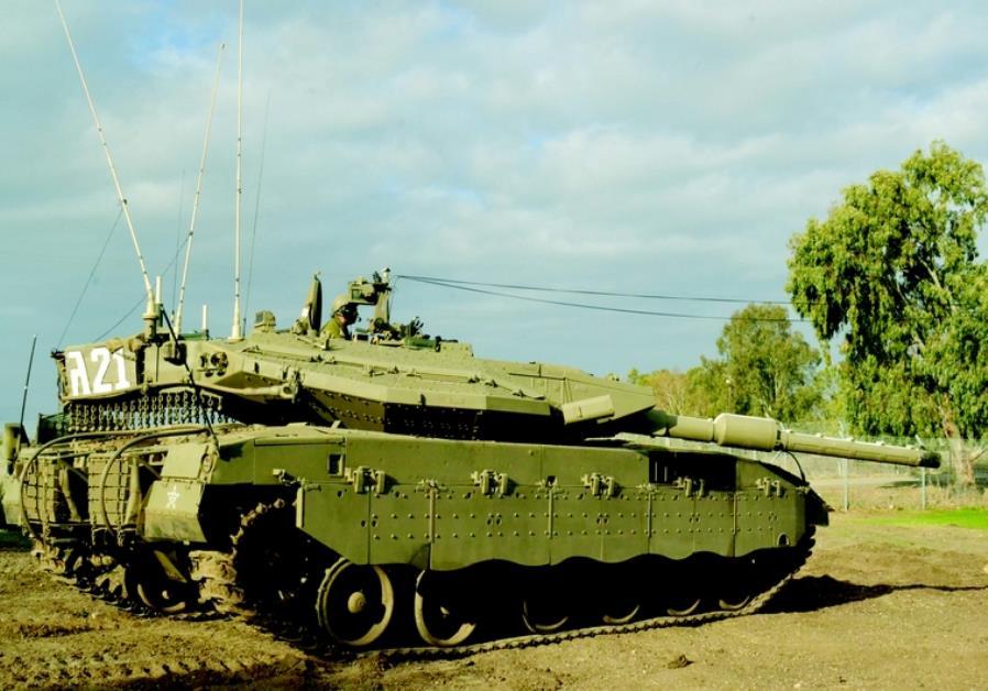 Le tank Merkava III