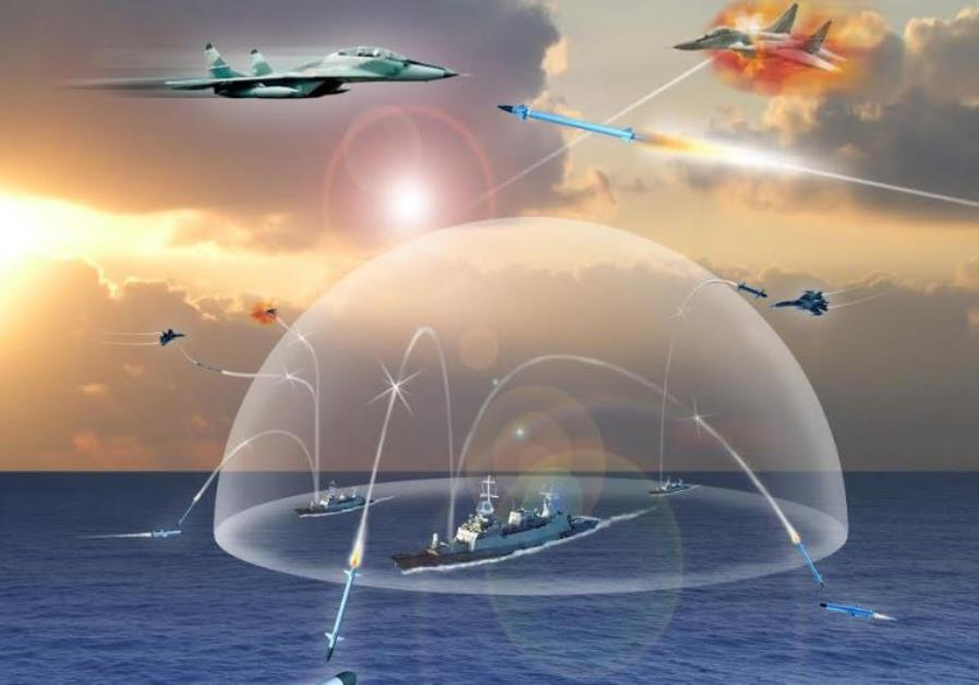 Illustrative Barak 8 system