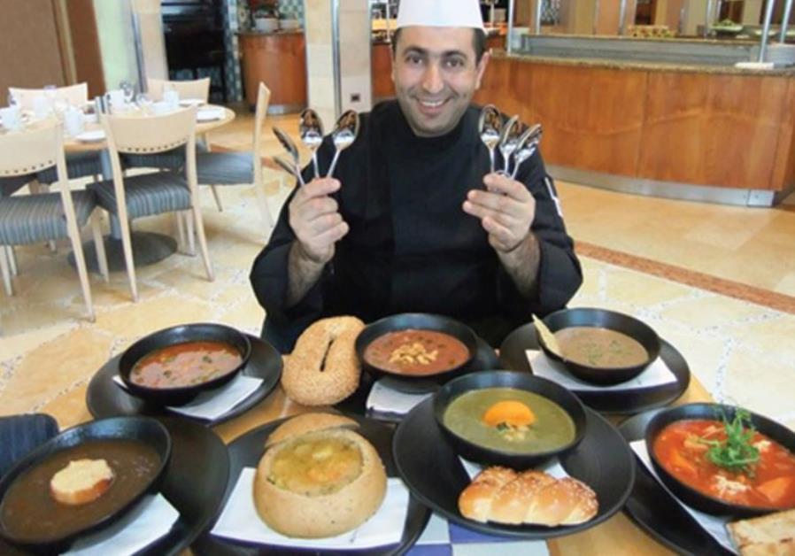 The Tel Aviv Hilton's restaurant