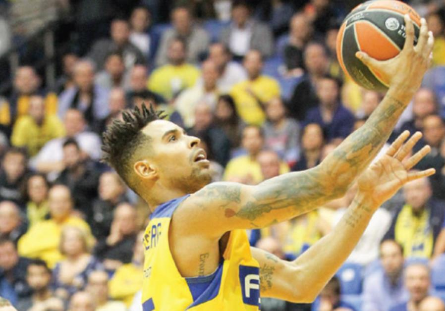 Maccabi Tel Aviv forward Sylven Landesberg hopes to build on his recent improved form when the yello