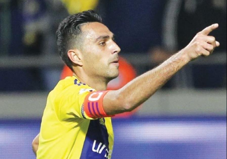 Maccabi Tel Aviv star Eran Zahavi
