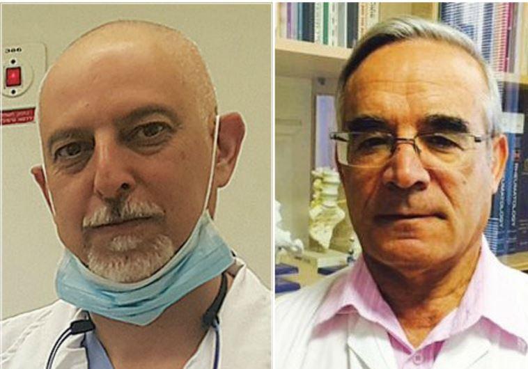 Prof. Eldad Ben-Chetrit (R) and Prof. Doron Aframian