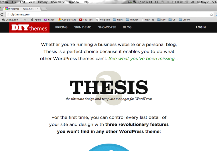 thesis photography theme Thesis theme is the best wordpress theme to use for both business websites and personal blogs thesis theme enables you to manage every detail of sites and design with three vital features that .