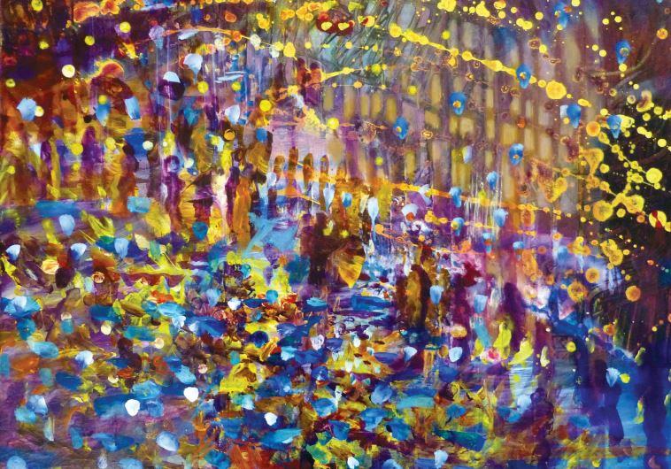 Painting by Yoram Raanan