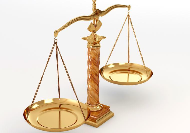 Scales of Justice symbol (photo credit: INGIMAGE)