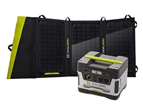 Goal Zero Yeti 400 Solar Generator w/ Nomad 20 Solar Panel
