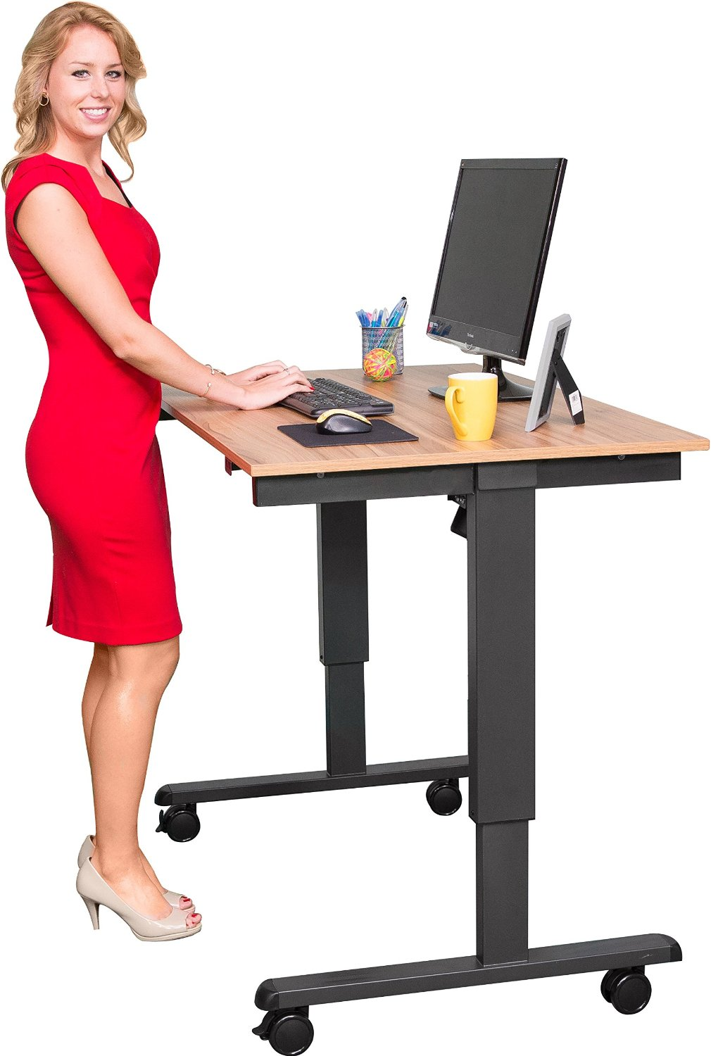6 best ergonomic standing desks for your home or office for Standing desk at home