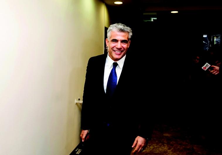 Yair Lapid, leader de Yesh Atid