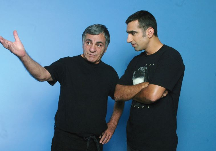 VETERAN LOCAL actor Gavri Banai (left), together with his musician son Uri