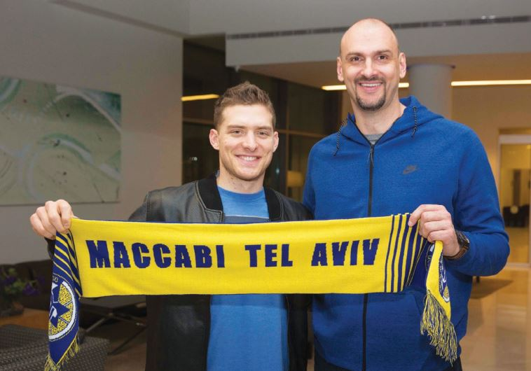 RETURNING Maccabi Tel Aviv guard Gal Mekel (left) said he is looking forward to working with coach Z