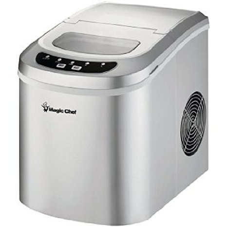 Quiet Countertop Ice Maker : Portable Countertop Ice Maker by Magic Chef: $224.00 from Amazon