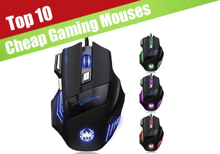7 Best cheap gaming mouses under $25