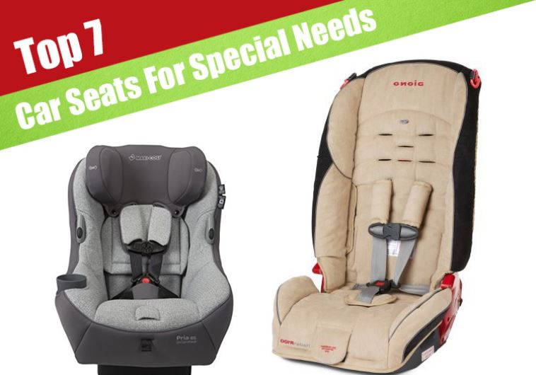 7 best car seats for special needs children