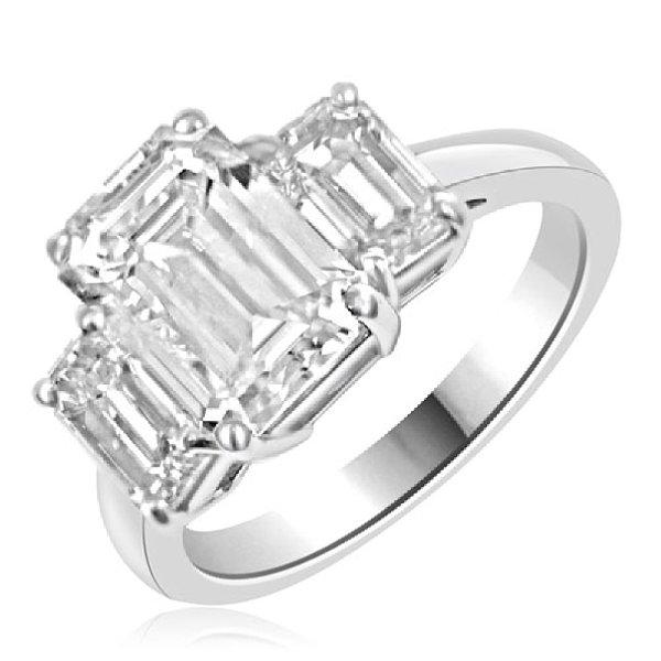 3 Stone Diamond Engagement Ring 120 000 Shenoaandco