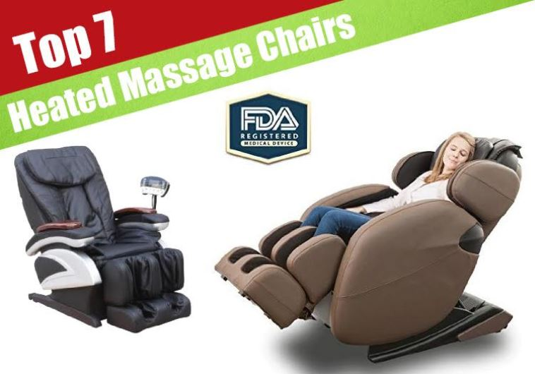 Seven Best Heated Massage Chairs Reviewed For 2016