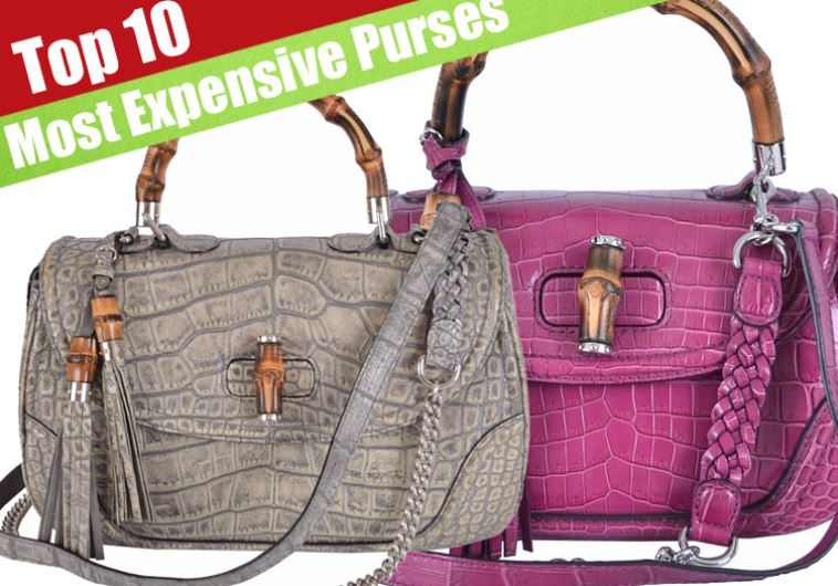 10 Most Expensive Original Purses You Can Buy Right Now On Amazon